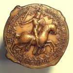 Great Seal of Edward III, reproduction.